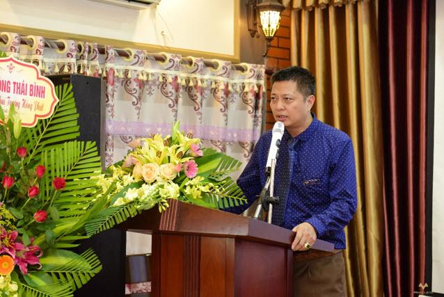 Ông Phạm Minh Huề - Giám đốc Nguồn vốn phát biểu tại buổi lễ
