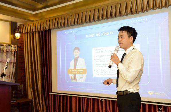 Ông Trần Văn Tùng – Trợ lý Tổng giám đốc chia sẻ thông tin về Hệ sinh thái Bất động sản Meey Land