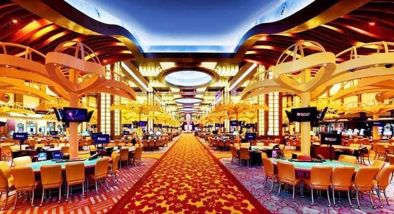 Phía bên trong 1 casino cao cấp