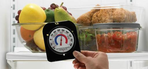 Nên bảo quản thực phẩm trong tủ lạnh ở nhiệt độ phù hợp